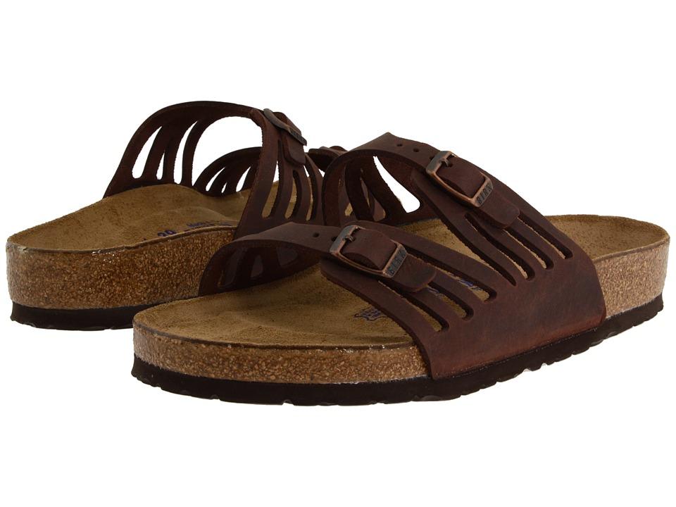 Birkenstock - Granada Soft Footbed (Habana Oiled Leather) Womens Sandals