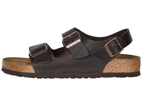 birkenstock milano - oiled leather unisex