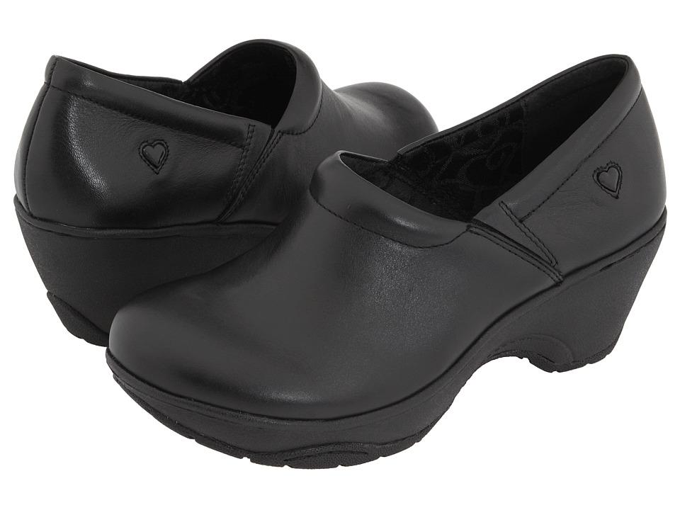 Nurse Mates Bryar Black Womens Clog Shoes