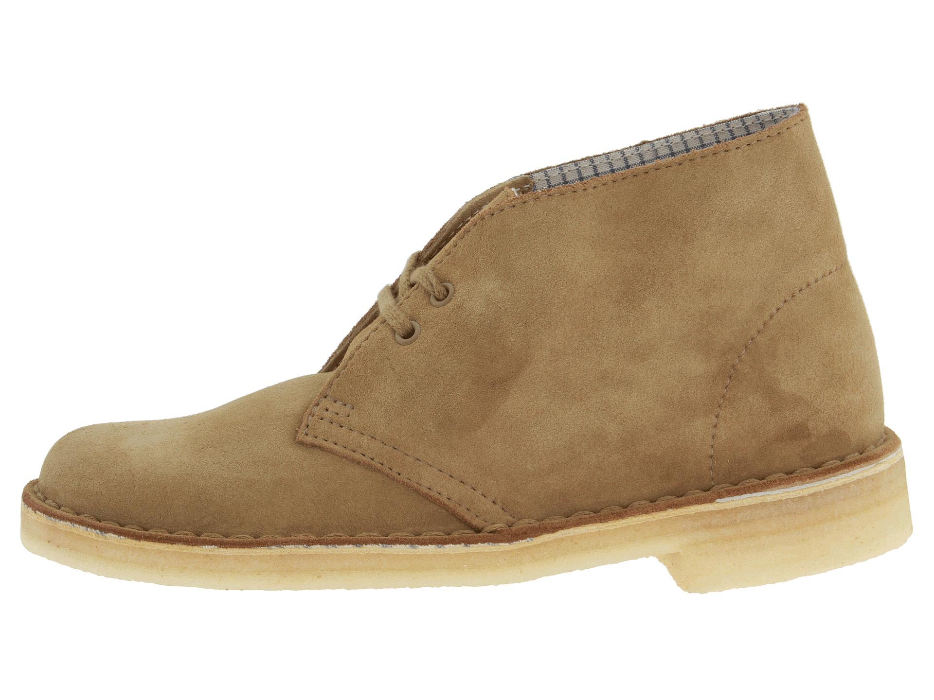 clarks desert boot oakwood suede zappos free