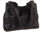 Tignanello - Perfect 10 Studded Shopper (Black) - Bags and Luggage