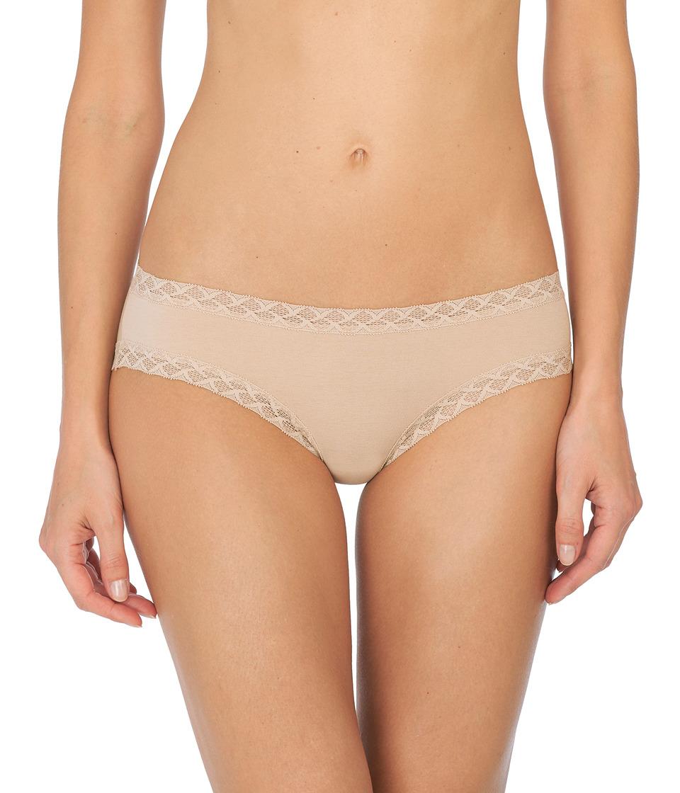 Natori Bliss Cotton Girl Brief (Cafe) Women's Underwear