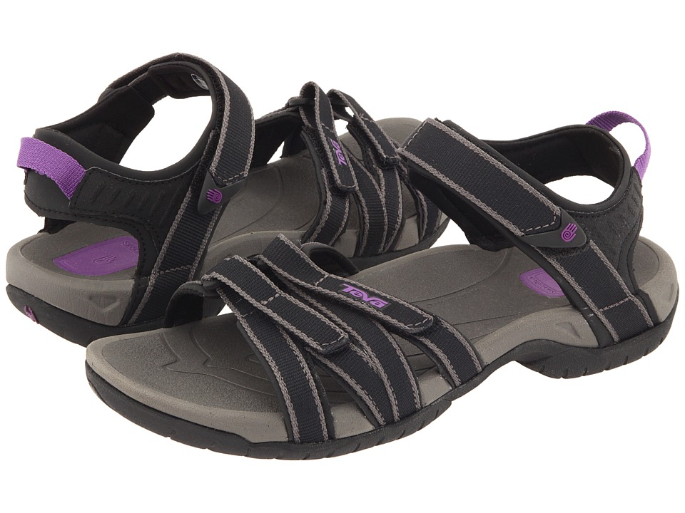 Teva Tirra (Black/Grey) Sandals