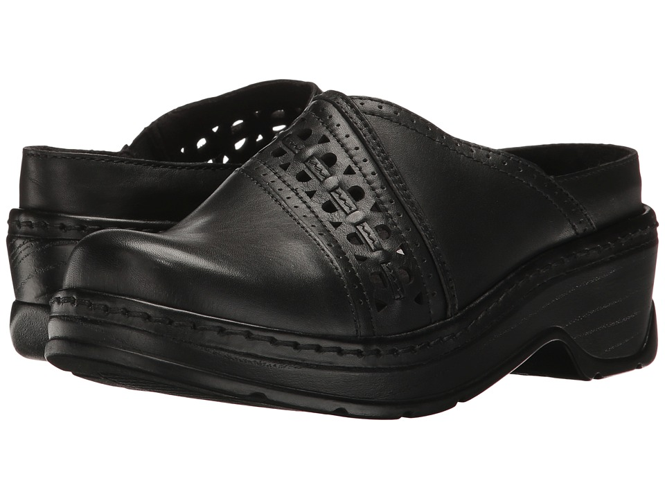 Klogs Footwear Syracuse (Black Smooth) Women's Clogs