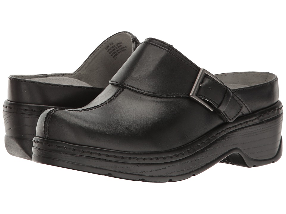 Klogs Footwear Austin (Black Smooth) Women's Clogs