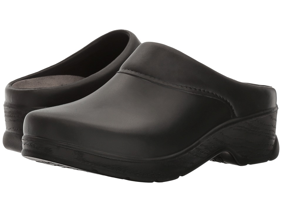 Klogs Footwear - Abilene (Black) Womens Clog Shoes