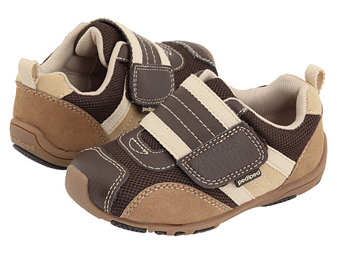 pediped Adrian Flex (Toddler/Little Kid) - Chocolate Brown/Tan