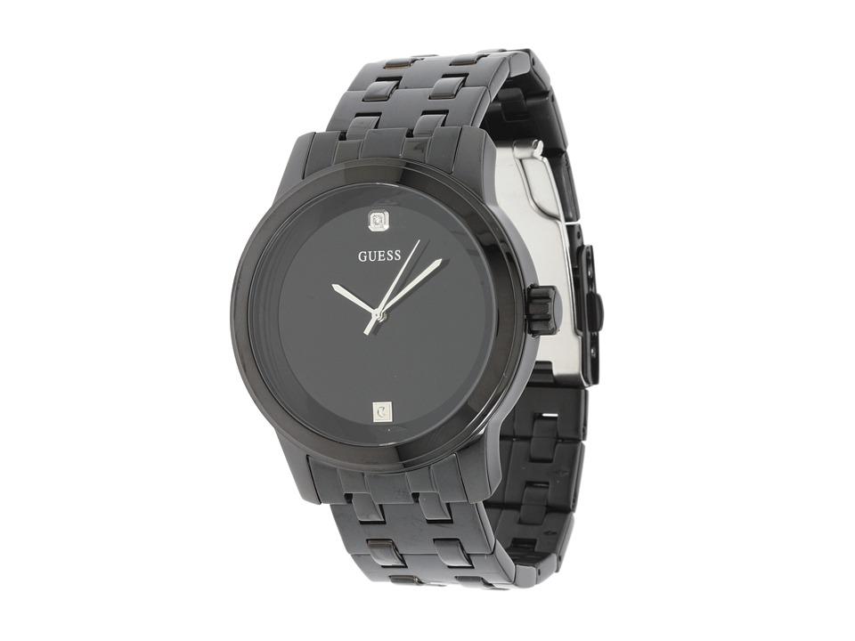 GUESS - U12604G1 Round Diamond Watch