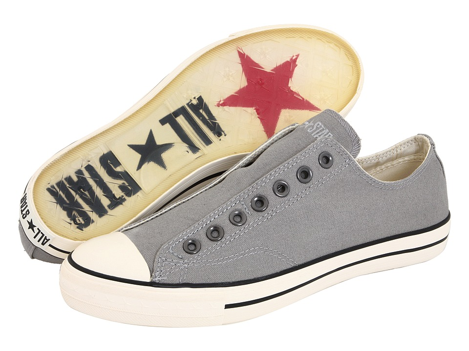 Converse by John Varvatos Chuck Taylor Vintage Slip PewterMil Mens Lace up casual Shoes