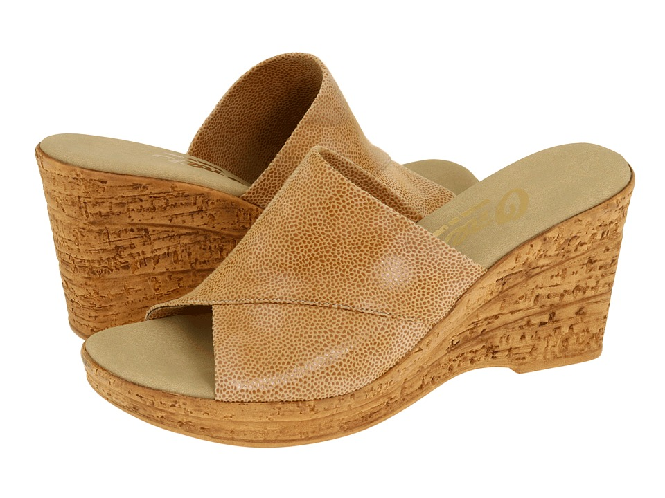 Onex - Christina (Beiege Eldorado) Women's Wedge Shoes