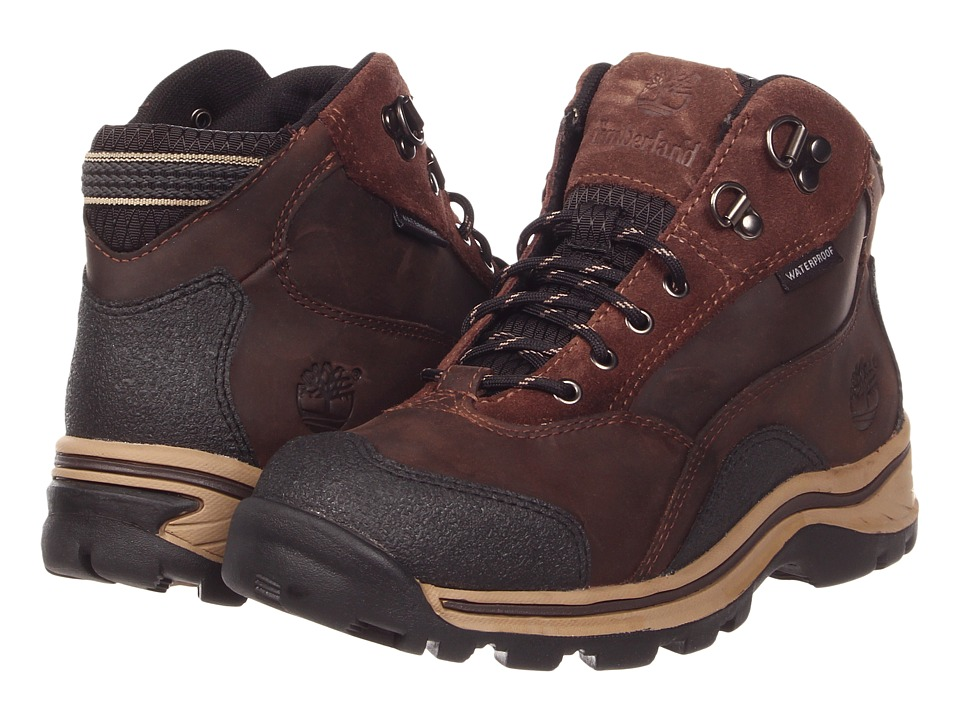 Timberland Kids Pawtuckaway Lace Hiker (Big Kid) (Brown) Boys Shoes