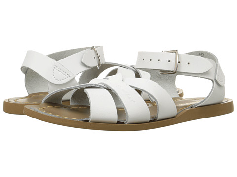 Salt Water Sandal by Hoy Shoes The Original Sandal (Toddler/Little Kid) - White