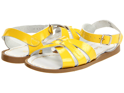 Salt Water Sandal by Hoy Shoes The Original Sandal (Toddler/Little Kid) - Shiny Yellow