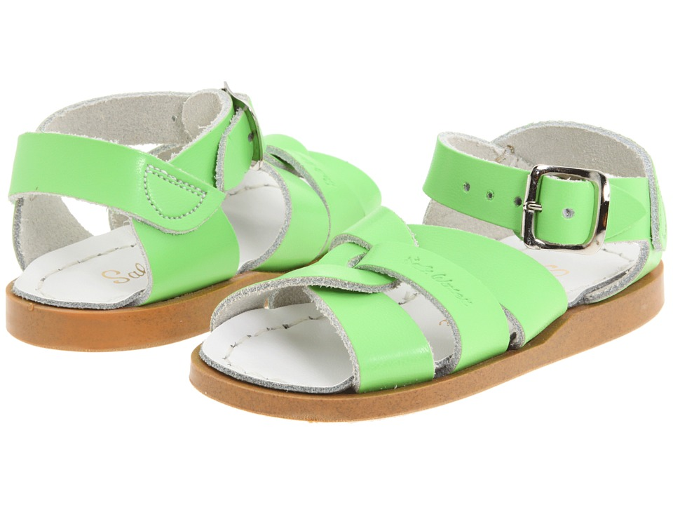 Salt Water Sandal by Hoy Shoes The Original Sandal (Infant/Toddler) (Lime Green) Girls Shoes
