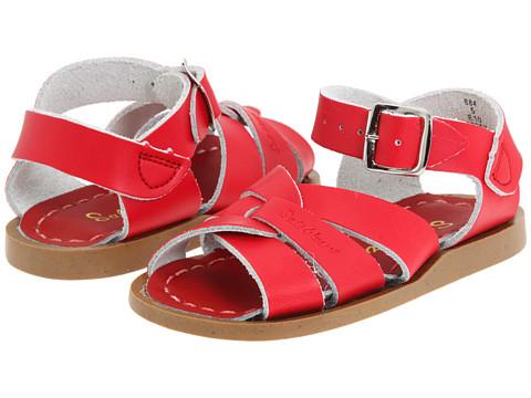 Salt Water Sandal by Hoy Shoes The Original Sandal (Infant/Toddler) - Red