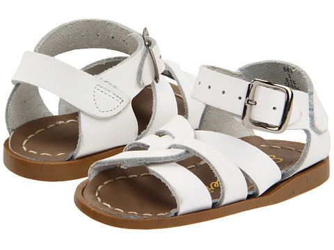 Salt Water Sandal by Hoy Shoes The Original Sandal (Infant/Toddler) - White