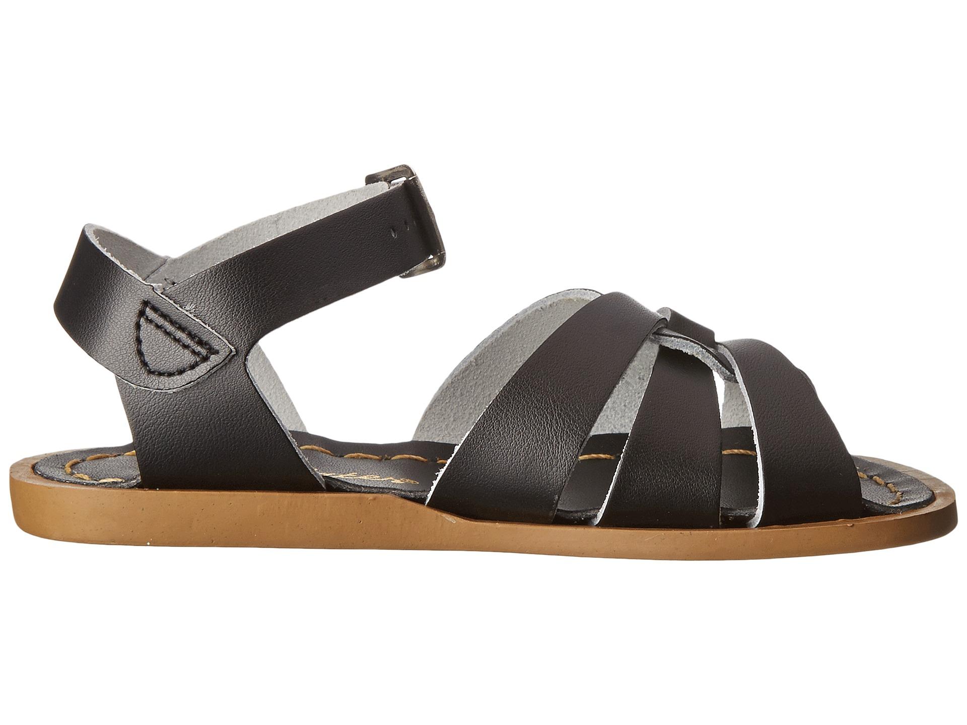 salt water sandal by hoy shoes the original sandal toddler little kid black free. Black Bedroom Furniture Sets. Home Design Ideas