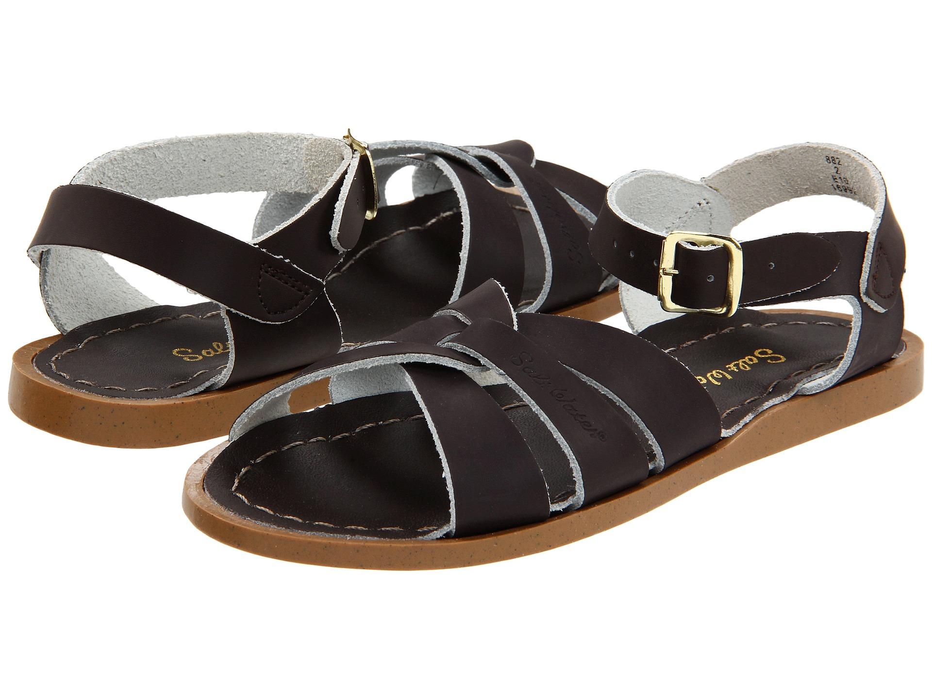 salt water sandal by hoy shoes the original sandal toddler little kid brown free. Black Bedroom Furniture Sets. Home Design Ideas
