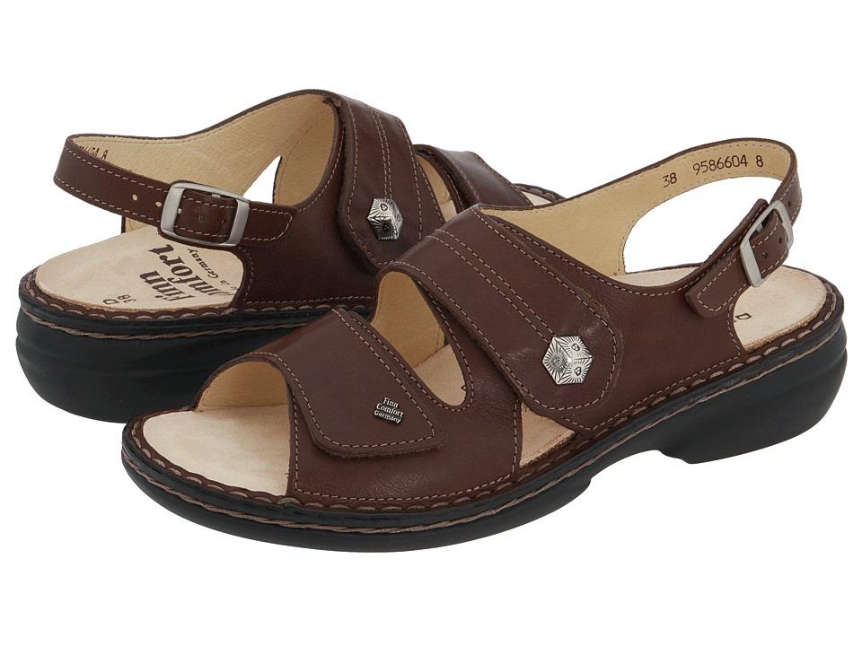 Finn Comfort Milos 82560 (Coffee) Sandals