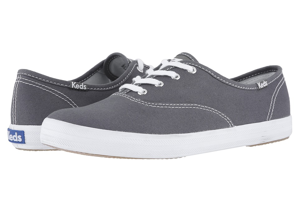 Keds - Champion-Canvas CVO (Graphite) Womens Lace up casual Shoes