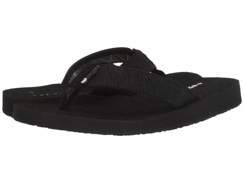 Cobian Floater Black Mens Sandals