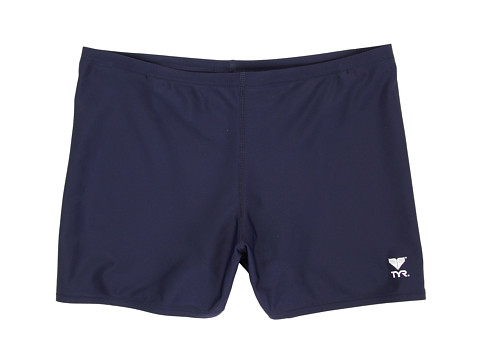TYR Male Solid Square Leg - Navy