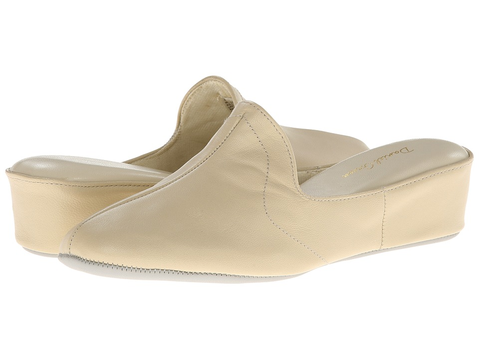 Daniel Green Glamour II (Bone Kidskin) Slippers