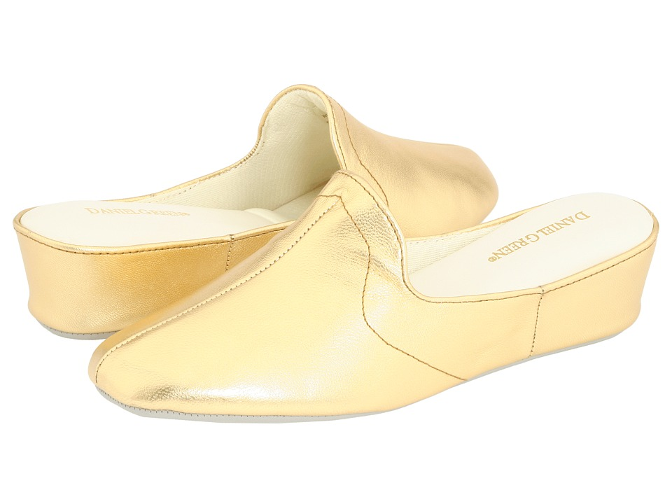 Daniel Green Glamour II (Gold Kidskin) Slippers