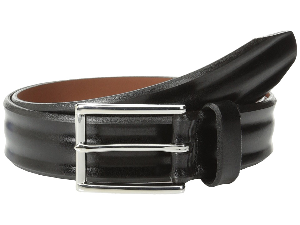 Allen Edmonds Bombay Black Mens Belts