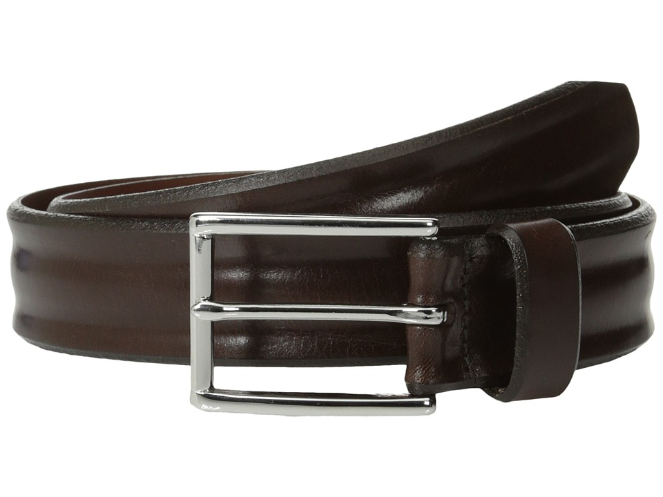 Allen Edmonds Bombay Brown Mens Belts