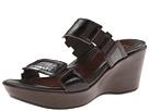 Naot Footwear - Treasure (Espresso w/ Brown Croc Print) - Footwear