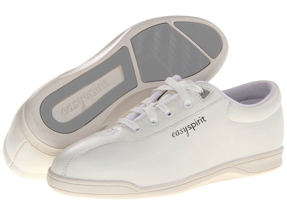 Easy Spirit AP1 (White Leather) Women