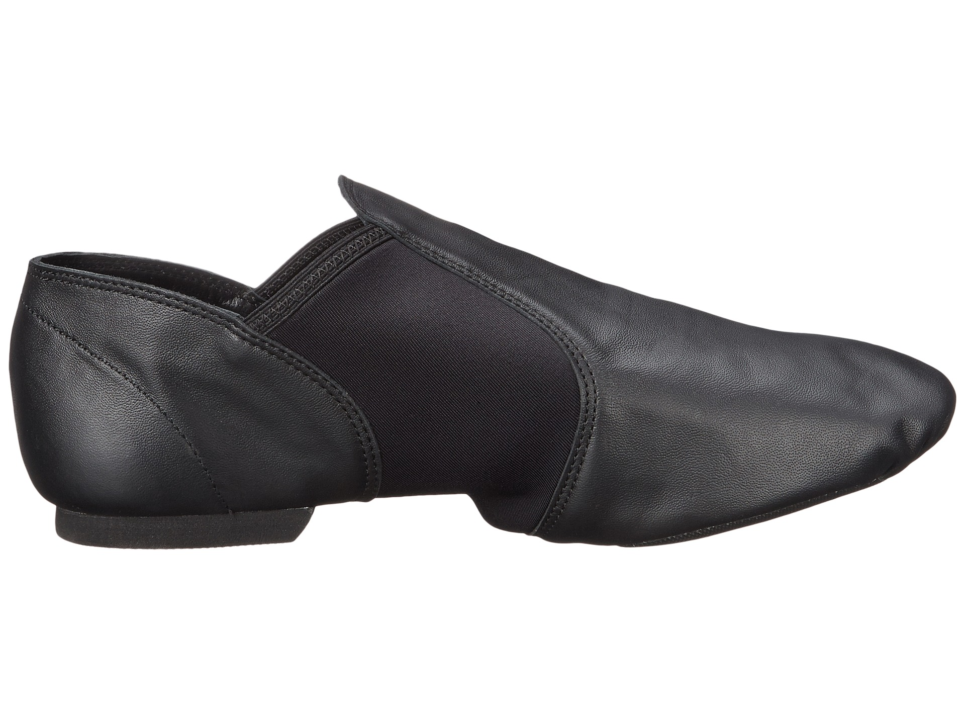 capezio economy jazz slip on at zappos