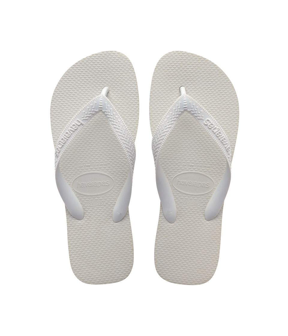 Havaianas Top Flip Flops (White) Sandals