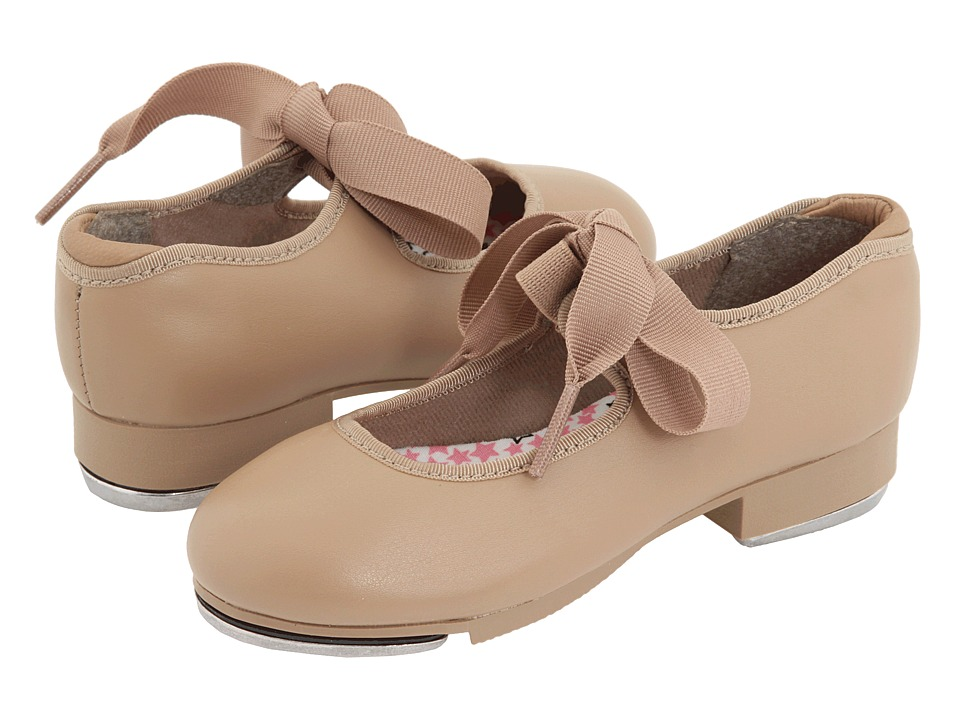 Capezio Kids Jr. Tyette N625C Toddler/Little Kid Caramel Girls Shoes