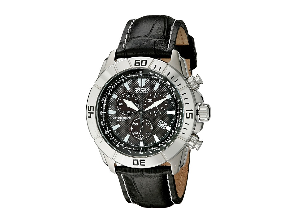 Citizen Watches AT0810 12E Eco Drive Strap Sport Watch Black/Stainless Steel/Black Dress Watches