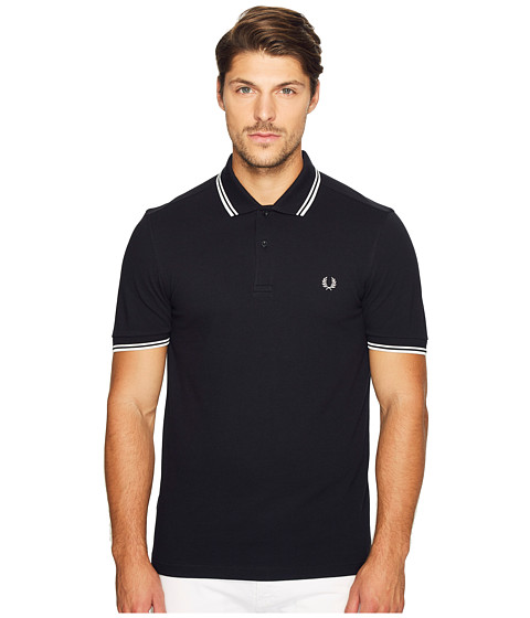 fred perry slim fit twin tipped fred perry polo free shipping both ways. Black Bedroom Furniture Sets. Home Design Ideas