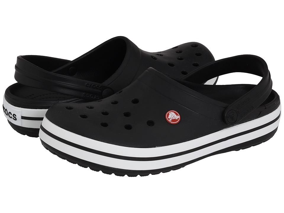 Crocs Crocband Clog (Black) Clog Shoes