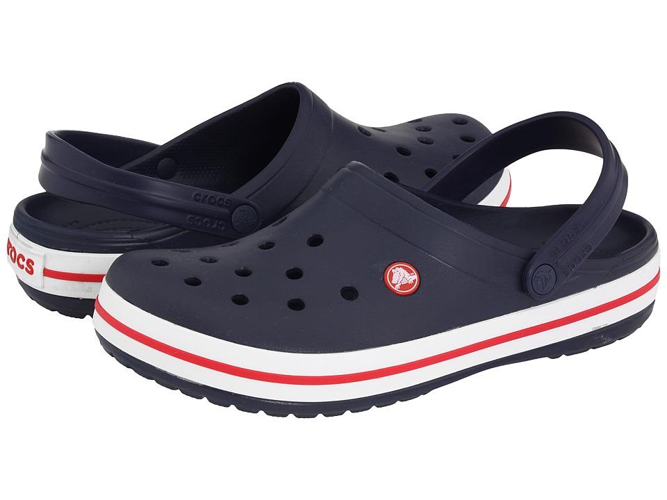 Crocs Crocband Clog (Navy) Clog Shoes