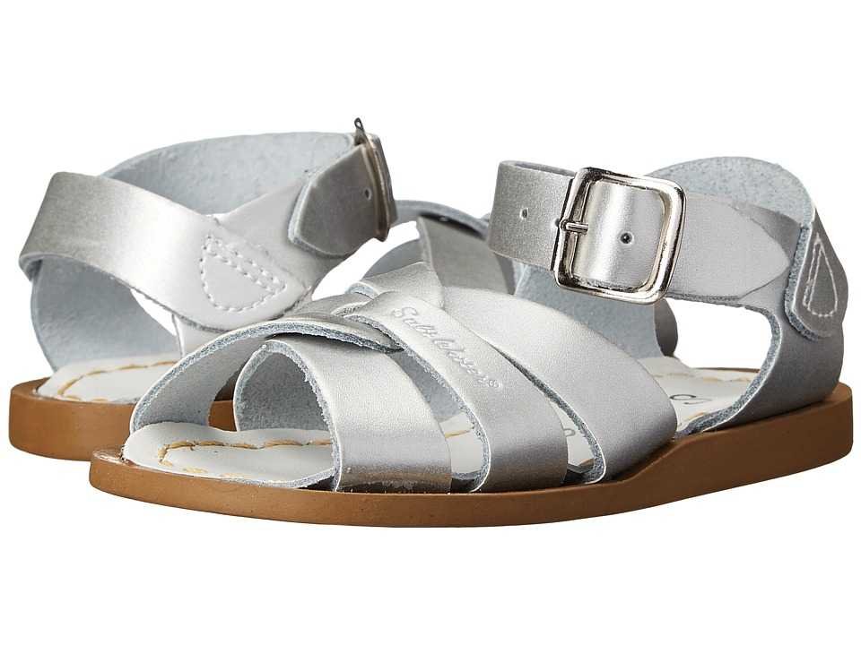 Salt Water Sandal by Hoy Shoes The Original Sandal (Infant/Toddler) (Silver) Girls Shoes