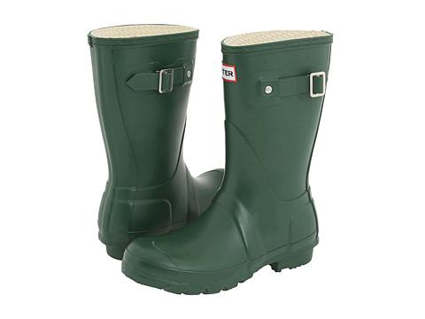 Hunter - Original Short (Green) - Footwear