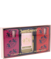 Juicy Couture - S/3 Crest Blackberry Case
