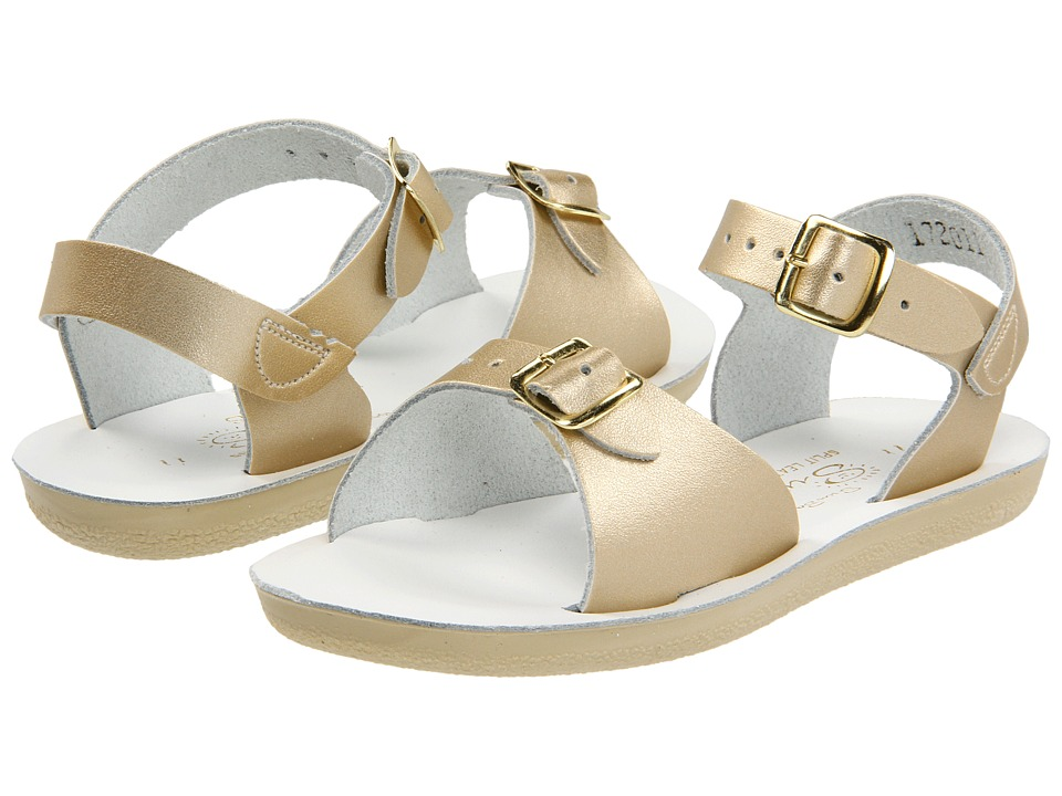 Salt Water Sandal by Hoy Shoes Sun-San Surfer (Toddler/Little Kid) (Gold) Girls Shoes