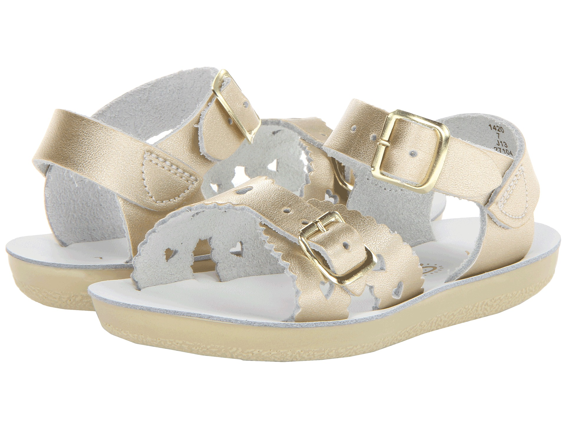 salt water sandal by hoy shoes sun san sweetheart toddler little kid free. Black Bedroom Furniture Sets. Home Design Ideas