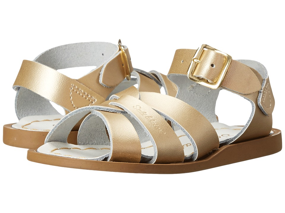 Salt Water Sandal by Hoy Shoes The Original Sandal (Infant/Toddler) (Gold) Girls Shoes