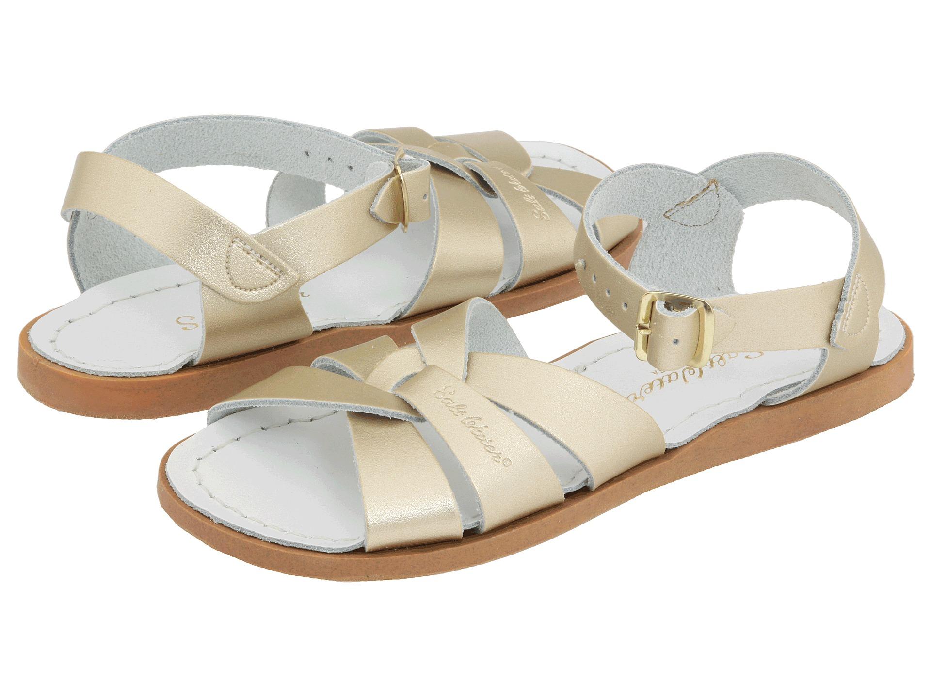 salt water sandal by hoy shoes the original sandal toddler little kid gold free. Black Bedroom Furniture Sets. Home Design Ideas