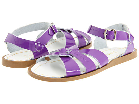 Salt Water Sandal by Hoy Shoes The Original Sandal (Toddler/Little Kid) - Shiny Purple