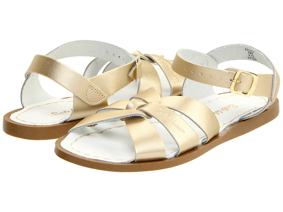 Salt Water Sandal by Hoy Shoes The Original Sandal (Big Kid/Adult) (Gold) Girls Shoes
