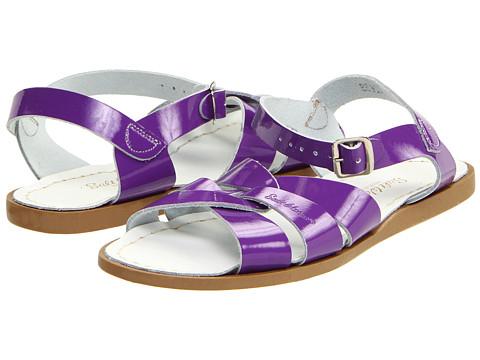Salt Water Sandal by Hoy Shoes The Original Sandal (Big Kid/Adult) - Shiny Purple