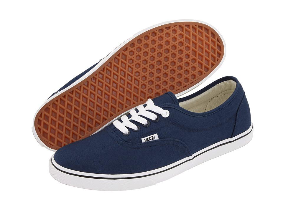Vans LPE Navy/True White Skate Shoes
